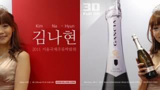 2011 서울국제주류박람회 금양인터내셔날 & 모델 김나현님